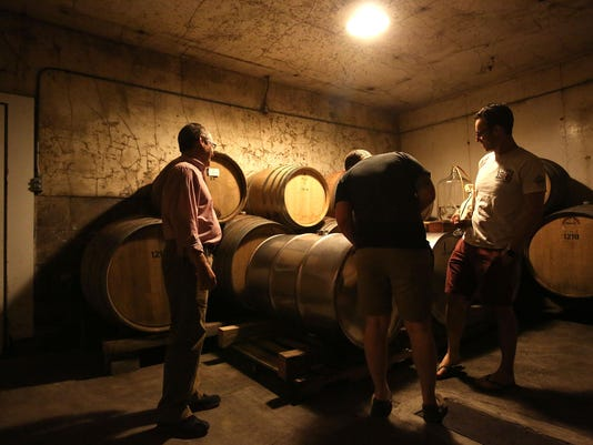 Eyrie barrel room