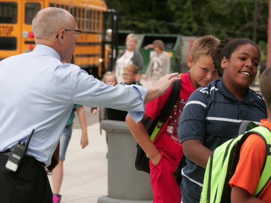 First day of school at Coshocton Elementary