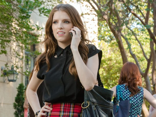 """Anna Kendrick as Beca, in a scene from the film, """"Pitch Perfect 2."""" (Richard Cartwright/Universal Pictures via AP)"""