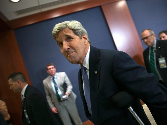 Secretary Of State Kerry, Treasury Secretary Lew, And Energy Sec. Moniz Meet With Lawmakers On Iran Deal