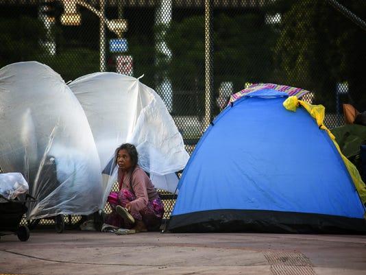 LA leaders plan ëstate of emergencyí on homelessness