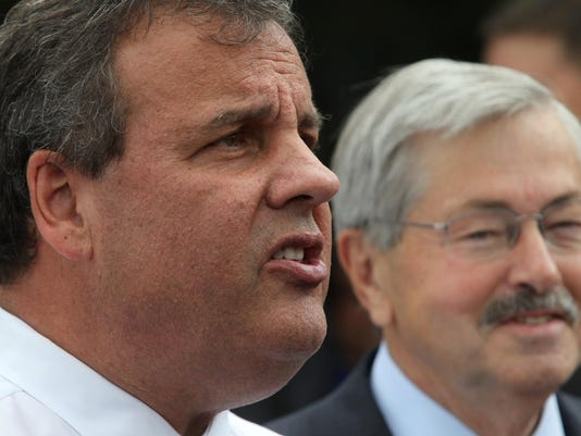 Chris Christie in Marion