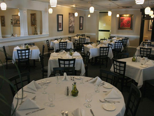 Over summer, the restaurant has been brightened up with new lighting, paint, and flooring as well as decor and chairs.