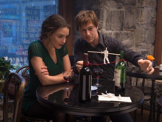 """Charlotte Le Bon, left, and Joseph Gordon-Levitt star in """"The Walk."""""""