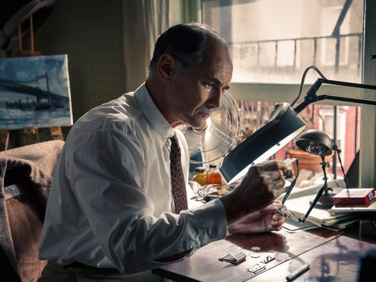 """Mark Rylance appears in a scene from """"Bridge of Spies."""""""