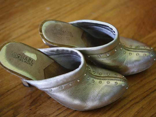 One of Olivia Griffin's favorite pair of shoes. Aug. 24, 2015.