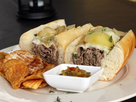 The classic Philly steak sandwich remains a staple at the Grille.