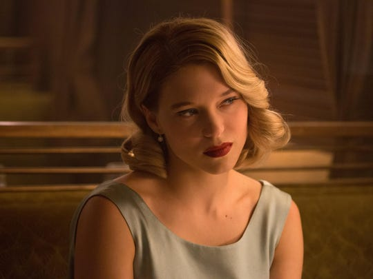 "Léa Seydoux appears in a scene from the James Bond film ""Spectre."""