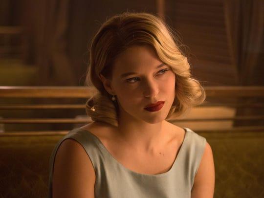 """Léa Seydoux appears in a scene from the James Bond film """"Spectre."""""""