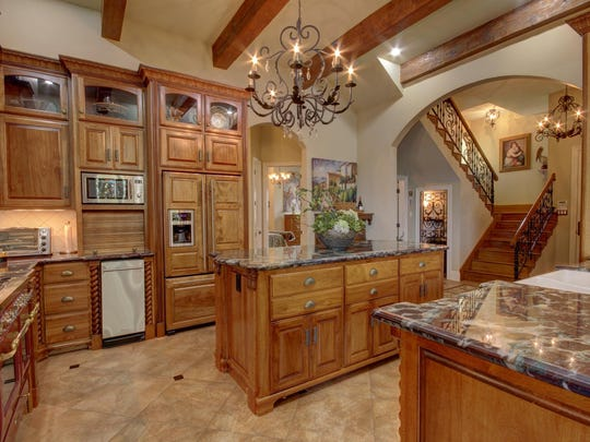 This home is located at 1534 Tiger Lane in Eunice and is listed at $949,500.