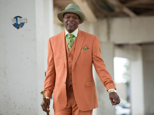 "Samuel L. Jackson is Dolmedes in Spike Lee's film ""Chi-Raq."""