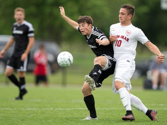 Ankeny Centennial High School's Garrett Culligan was named to the state soccer all-tournament team along with Nermin Kremic and Kenan Smajlovic.