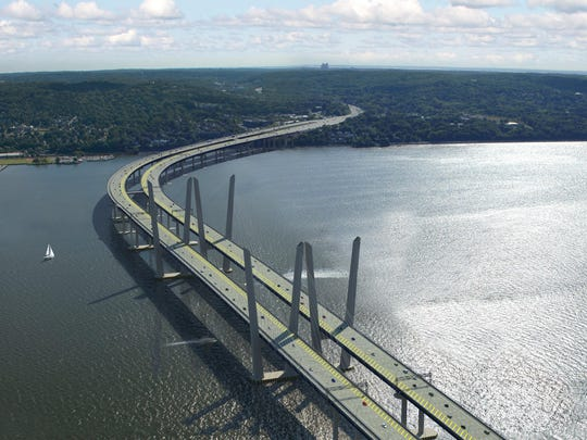 Rendering of the new Tappan Zee Bridge, which is expected to be fully opened to traffic in 2018.