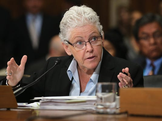 EPA Admin Gina McCarthy Testifies To Senate Hearing On The Dept's Gold King Mine Disaster
