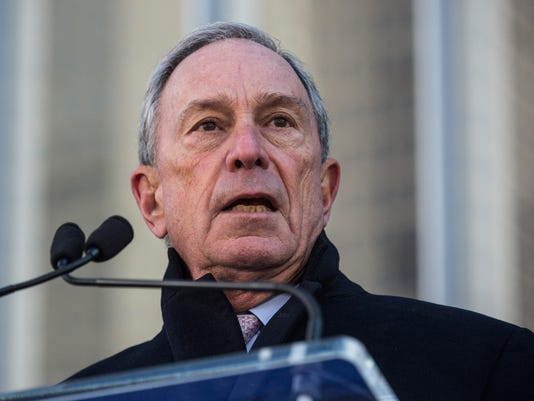 FILE: Bloomberg Explores Independent Presidential Bid