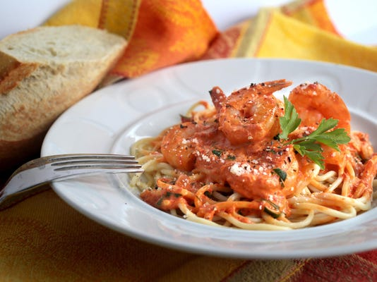 Test Kitchen recipe: Make a creamy pasta sauce with roasted red peppers