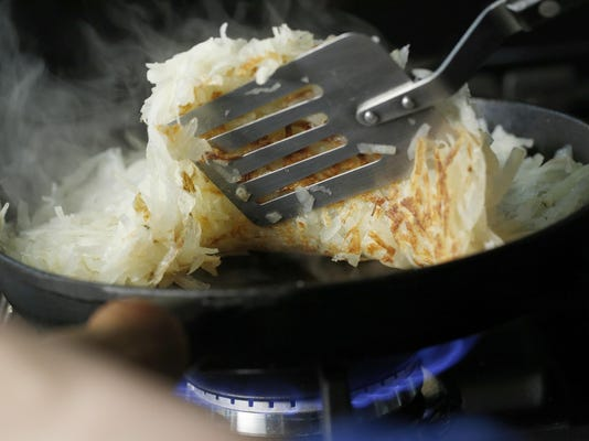 How to get hash browns perfectly crispy