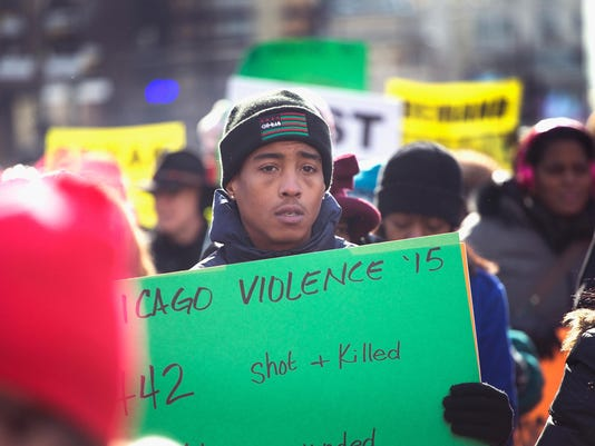 Activists Protest Chicago Police Department, Rahm Emanuel