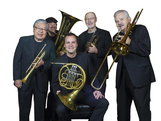 The St. Louis Brass quintet will hold a concert at 7:30 p.m. March 8 at Union University.