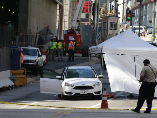 Construction worker dies in Los Angeles high-rise accident