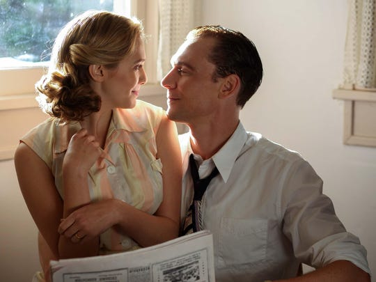 """Elizabeth Olsen stars as Audrey Williams, and Tom Hiddleston as Hank Williams in """"I Saw The Light."""""""