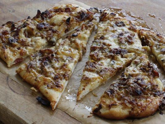 Food KitchenWise Alsatian Onion Pie