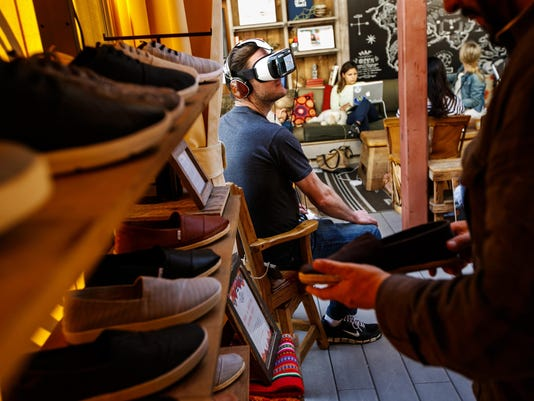 How retail stores are using virtual reality to make shopping more fun