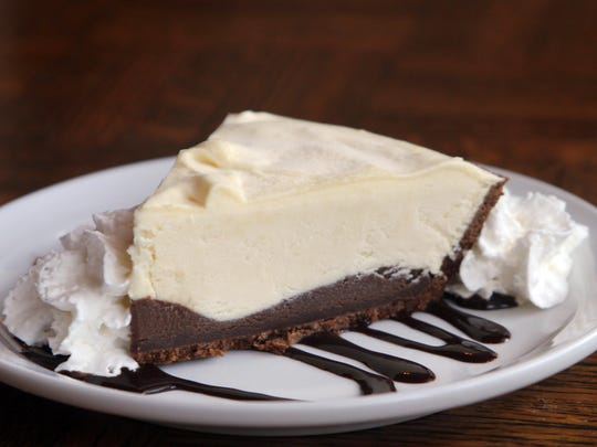"The the rum pie (""my favorite,"" says Kretschmer) has a layer of chocolate on the bottom and is topped with rum custard."