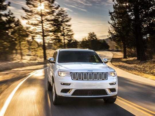 Jeep's 2017 Grand Cherokee.