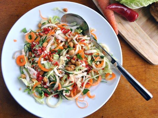 Let's eat: Gluten-free Chicken Noodle Salad