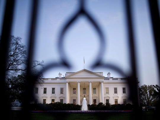 The White House has been placed on a security alert after a shooting on the street outside, according to the U.S. Park Police.