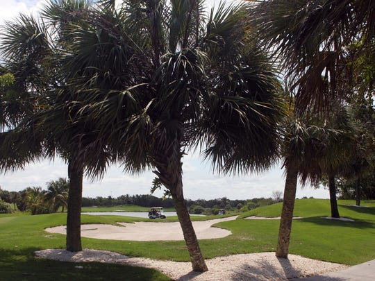 The Hammock Bay course is notable for its landscaping and prolific use of native Florida vegetation.