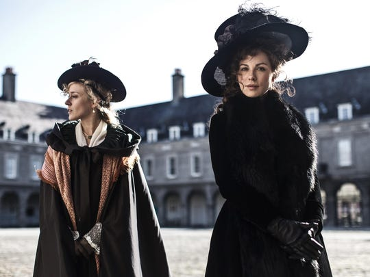 "Chloe Sevigny, left, and Kate Beckinsale star in ""Love & Friendship."""