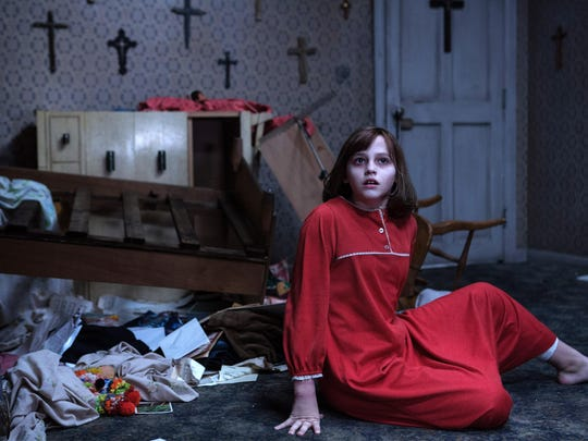 "Madison Wolfe stars in ""The Conjuring 2."""