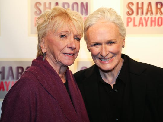 Elizabeth Franz and three-time Tony Award-winner Glenn Close are shown during Sharon Playhouse's Season Benefit Gala May 21.