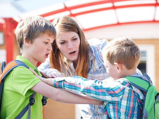 Parents, your kids should fight their own battles