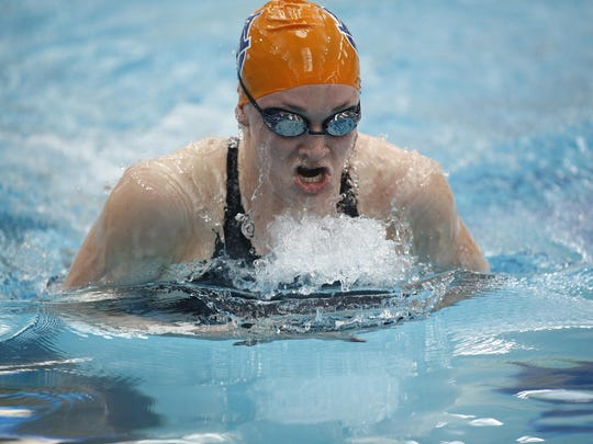 Groves graduate Annie Lazor enters her second straight Olympic swim trials with a top 10 national time in the 200-meter breaststroke.