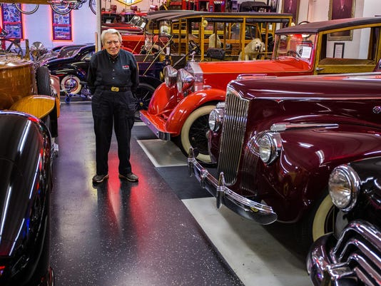 Cars in Chicagoís Klairmont Kollections showcase a century of automotive art