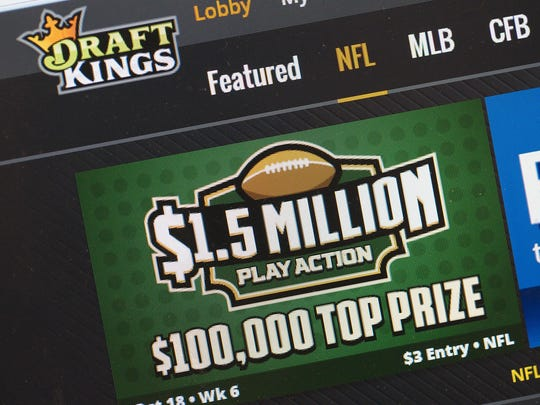 Daily fantasy sports companies such as DraftKings face a cloudy future in New York.