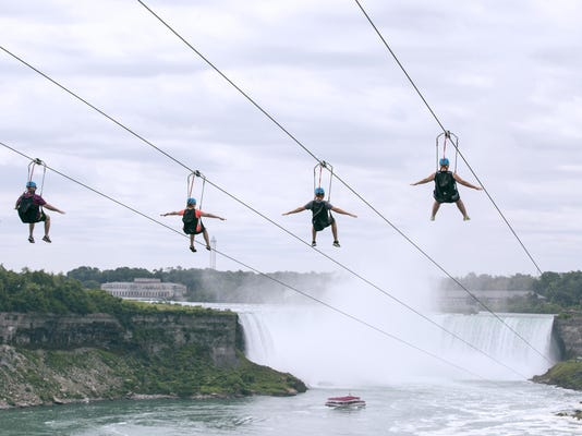 Zipping Over Niagara (2)