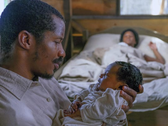 "Nate Parker as Nat Turner in a scene from ""The Birth of a Nation."""