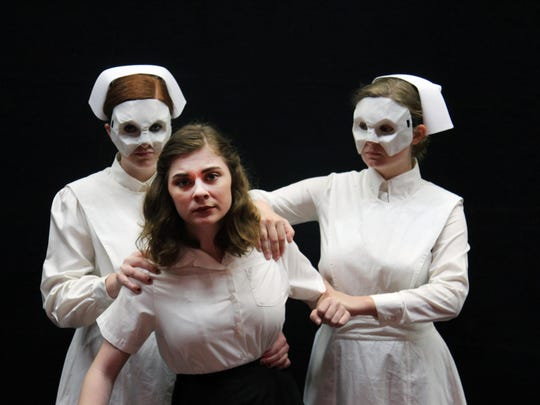 """Western Oregon University's production of """"Machinal,"""" a play based on the true story of convicted murderer Ruth Snyder, opens Nov. 10."""