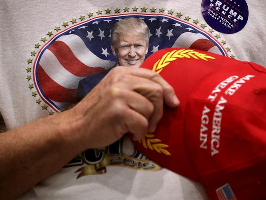 BESTPIX Donald Trump Campaigns In Key States During Weekend Ahead Of General Presidential Election