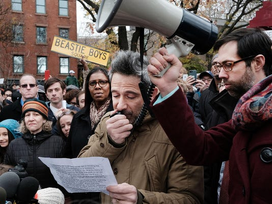 Activists Protest Racism And Hate In Brooklyn