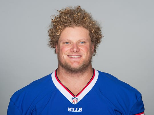 Eric Wood of the Buffalo BIlls