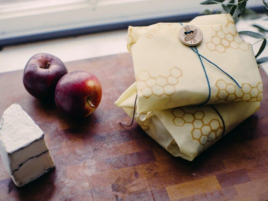 Aside from keeping fruits, veggies, school lunches, bread, cheese and so much more fresh, Bee's Wrap is great for covering bowls of leftovers, proofing dough and bringing to holiday gatherings to cover platters of food or giving as a hostess gift. They're re-usable, washable and compostable.