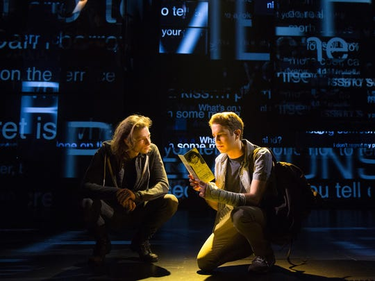 "Mike Faist and Ben Platt in ""Dear Evan Hansen."""