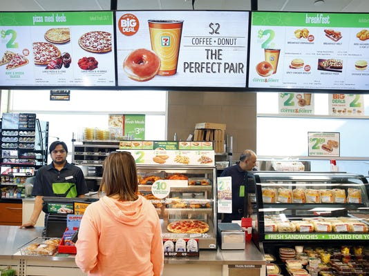 Are convenience stores still convenient? 7-Eleven takes on the on-demand invasion