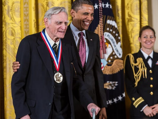 Obama Honors Winners Of The Nat'l Medal Of Science, Technology, Innovation