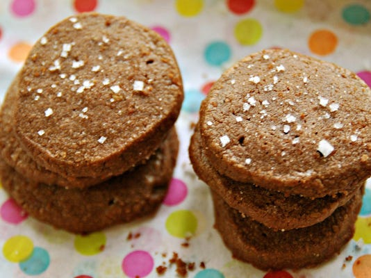 Let's eat: Chocolate, Salt and Pepper Sables